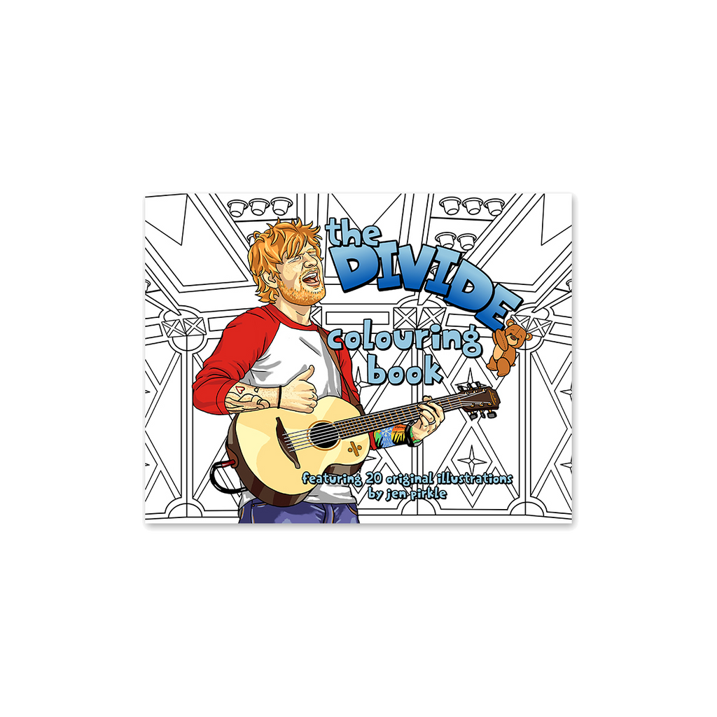 Ed Sheeran Colouring Book