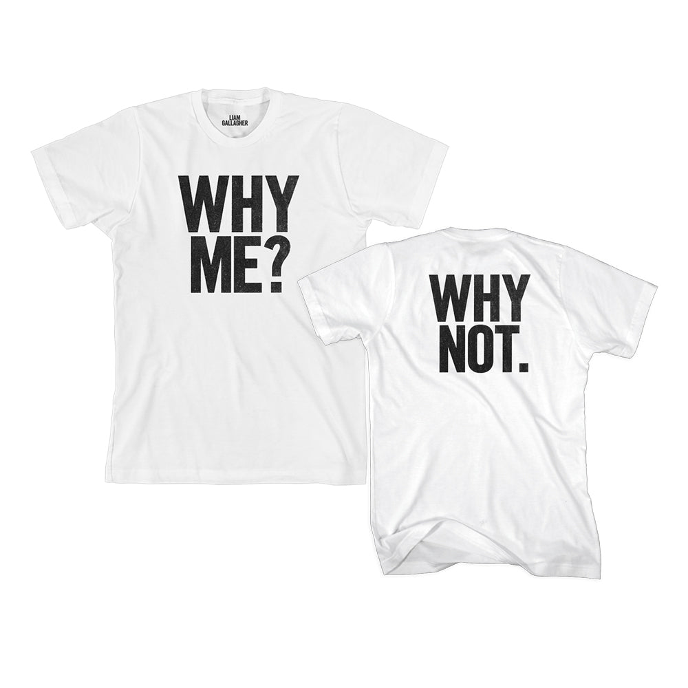 Why Me? Why Not. Collector Edition and T-Shirt Bundle