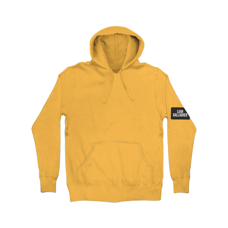 Liam Gallagher Patch Yellow Hoodie
