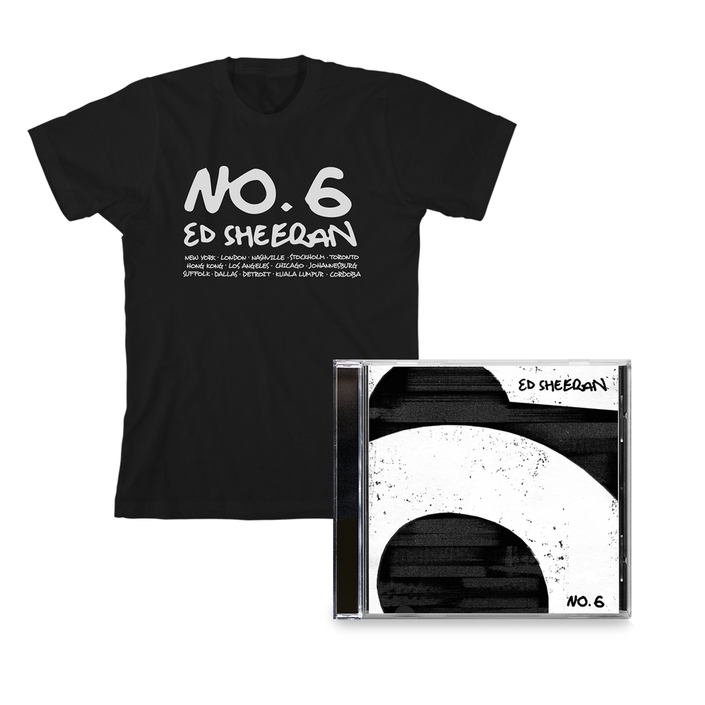 No.6 Collaborations Project (CD + Black T-Shirt)