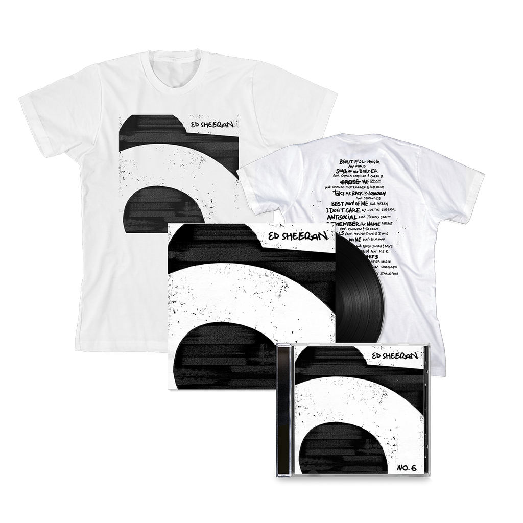 No.6 Collaborations Project (CD, Vinyl and White T-Shirt)
