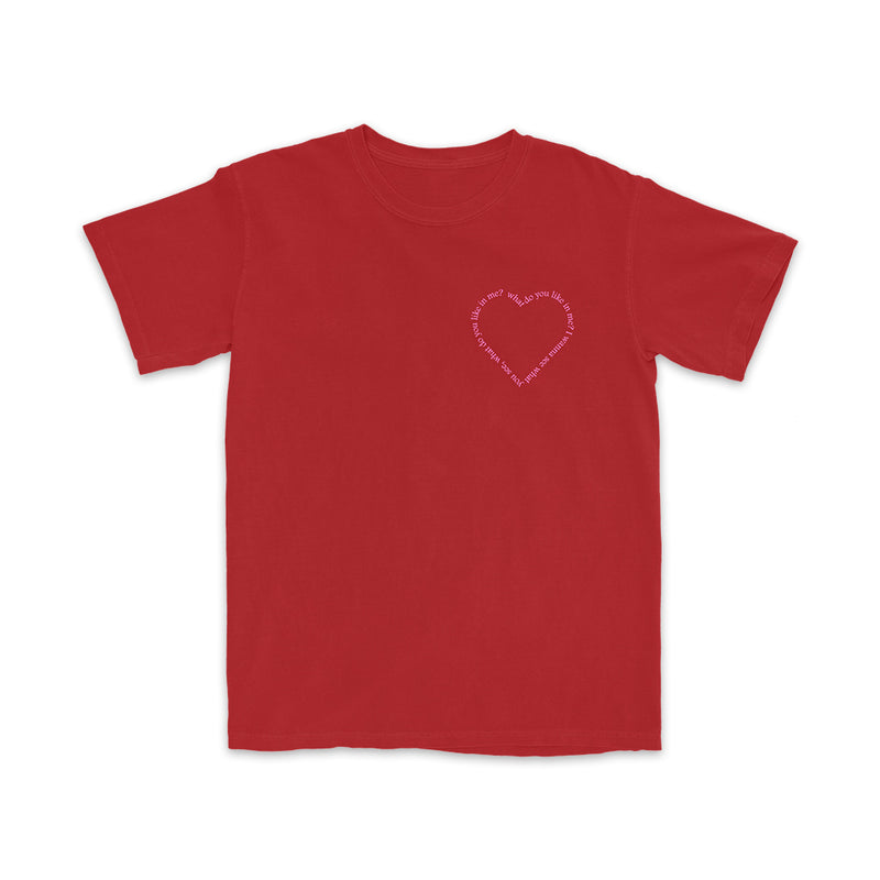Heart Pocket Red T-Shirt