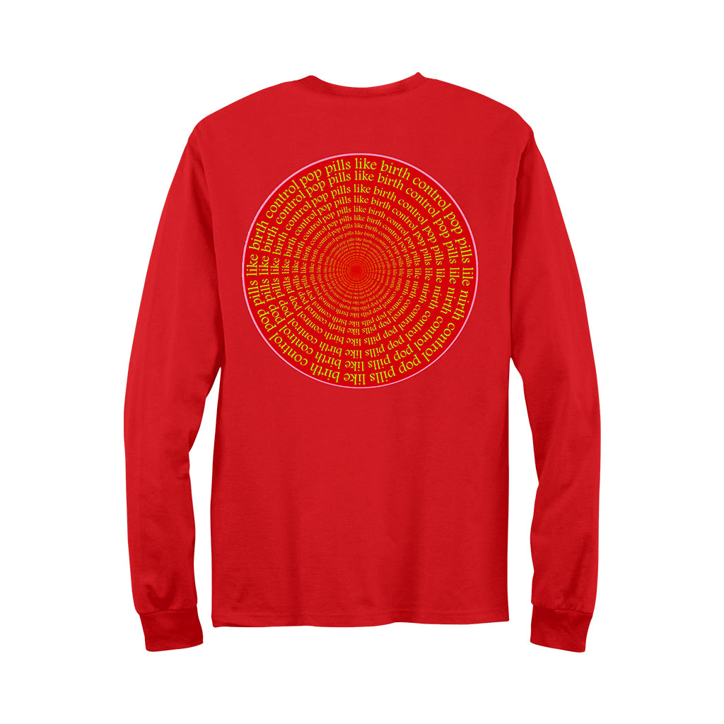Cherries Longsleeve Red T-Shirt