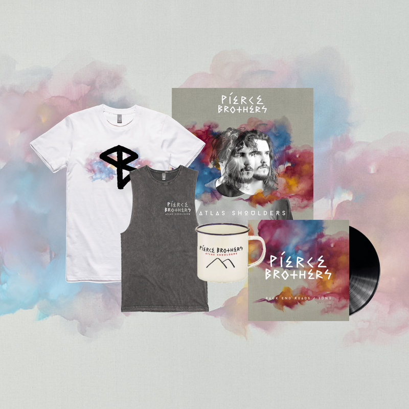 Atlas Shoulders (Vinyl / T-shirt / Mug Bundle)