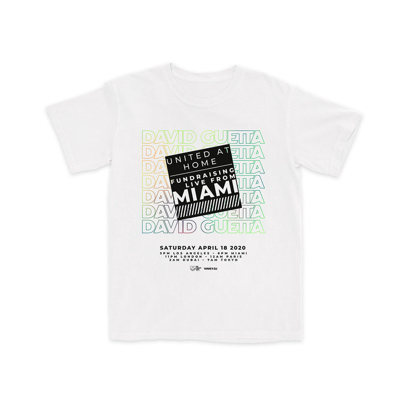 United At Home Miami White T-Shirt