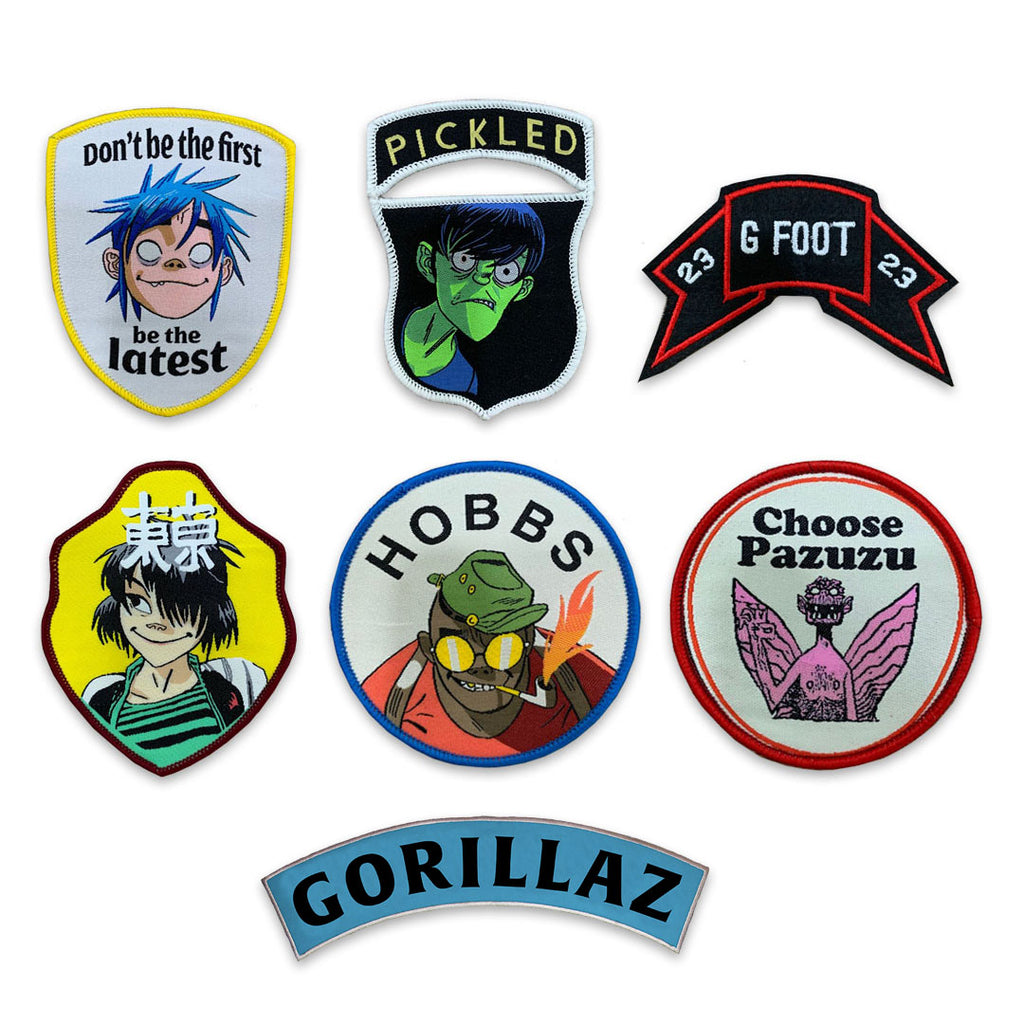 7 Woven Patch Set