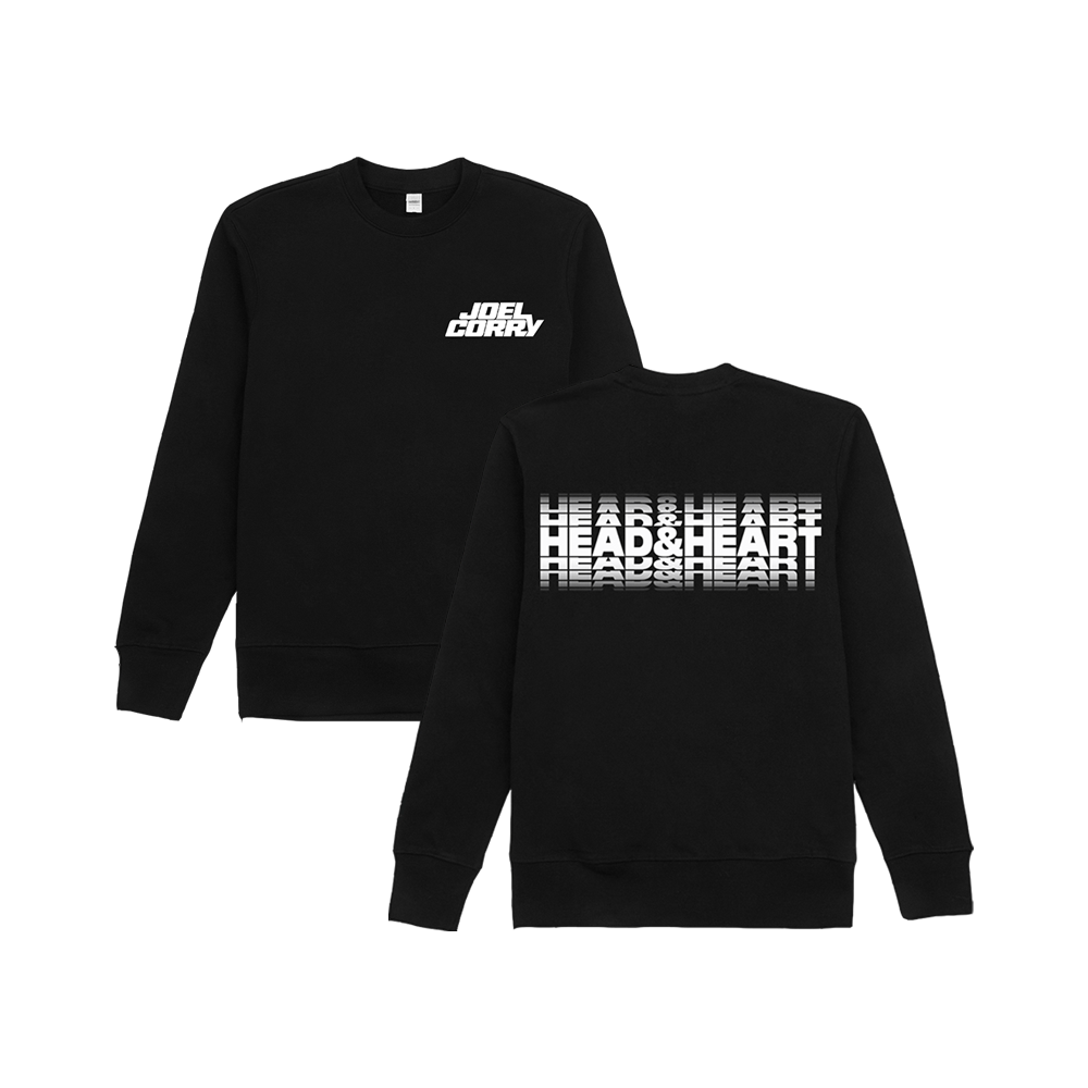 Head & Heart Sweatshirt Black