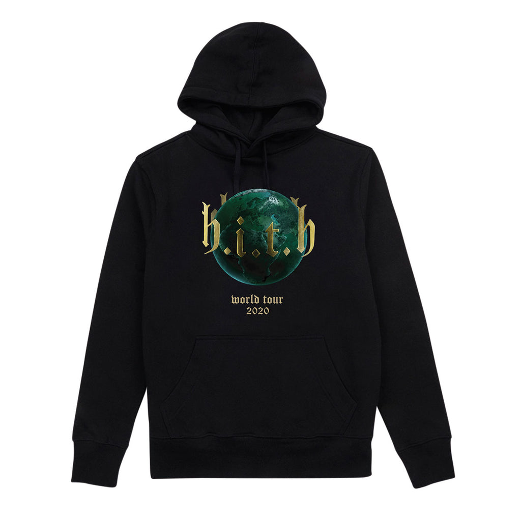 HITH Globe World Tour Hoodie Black
