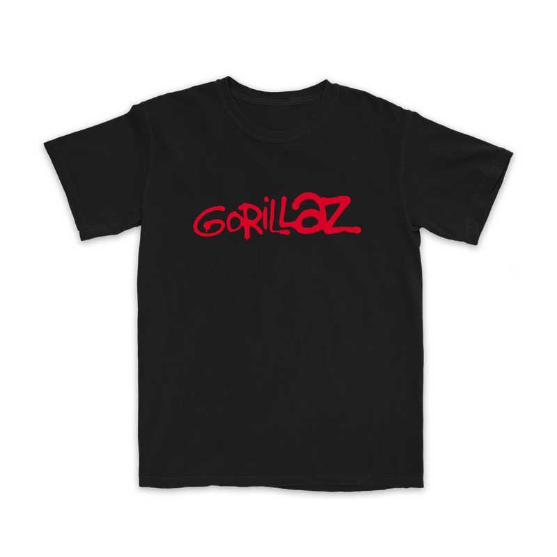 Gorillaz Red Logo T-Shirt