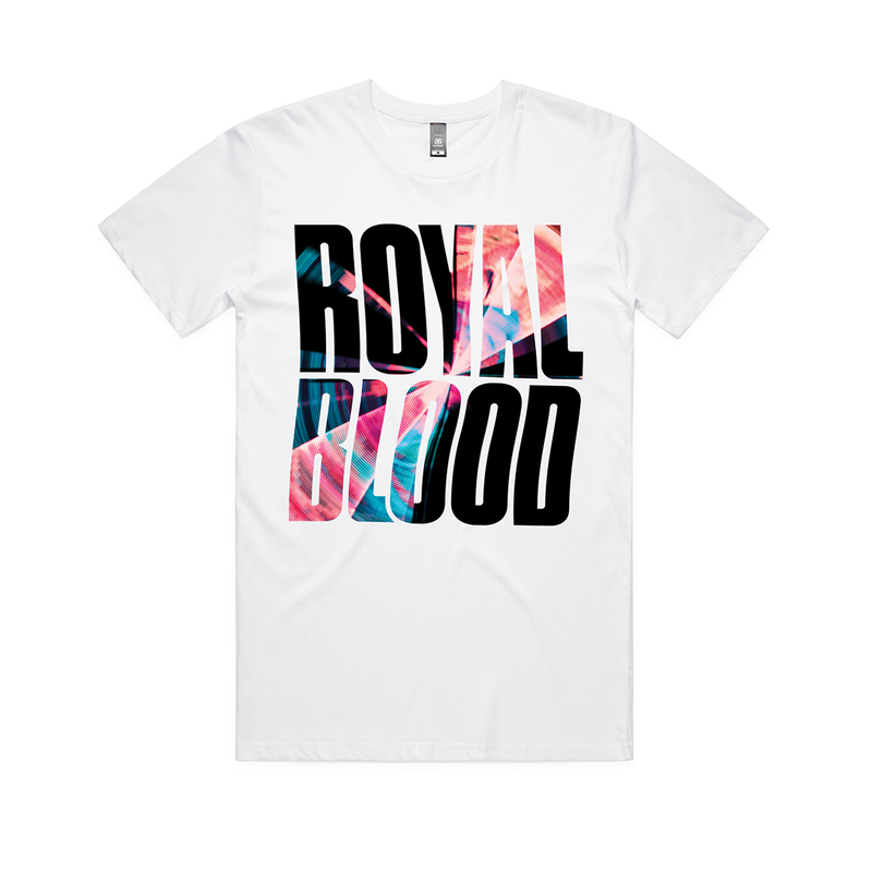 Royal Blood Warped Album Logo T-shirt White