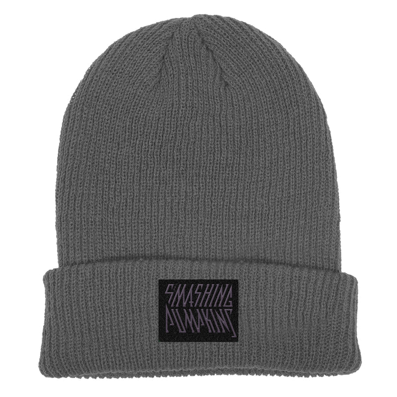 Grey Logo Label Beanie