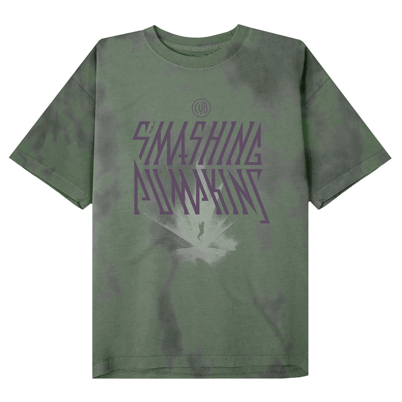 Cyr Green Acid Wash T-Shirt