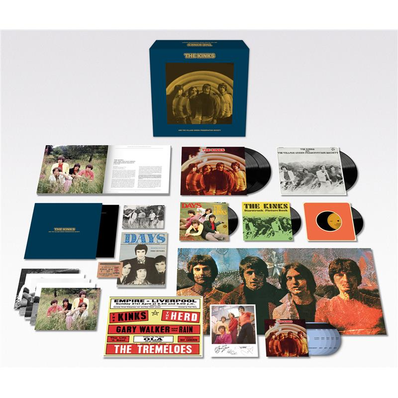 The Kinks Are The Village Green Preservation Society (50th Anniversary Super Deluxe Edition)