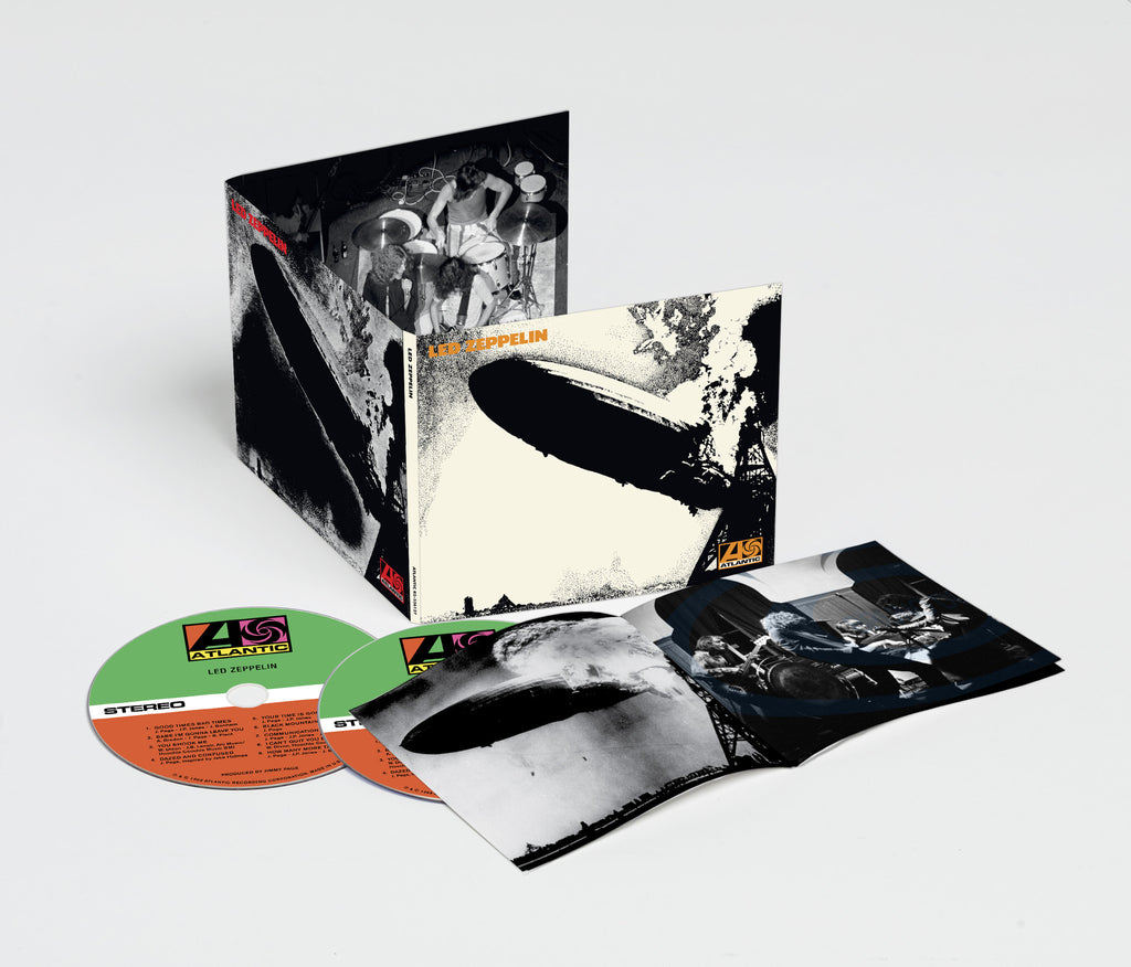 Led Zeppelin (Deluxe Edition - 2014 Re-Issue 2CD)