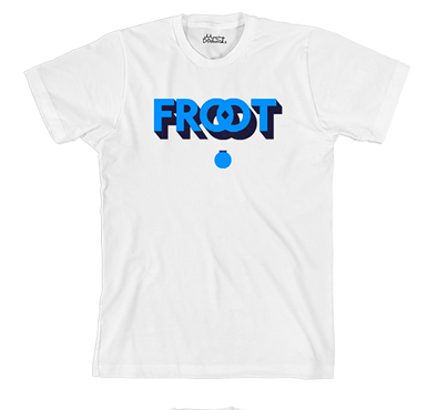 Froot (White/Blue Tee)