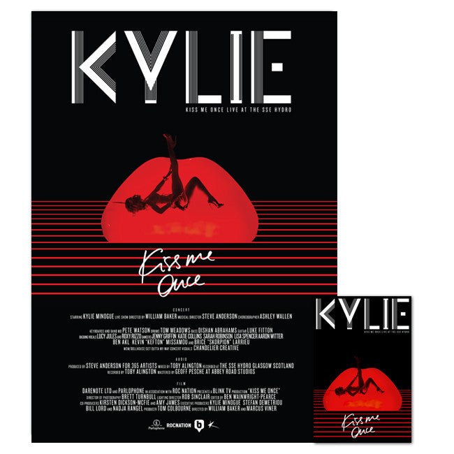 Kiss Me Once (DVD/2CD + A2 Poster)