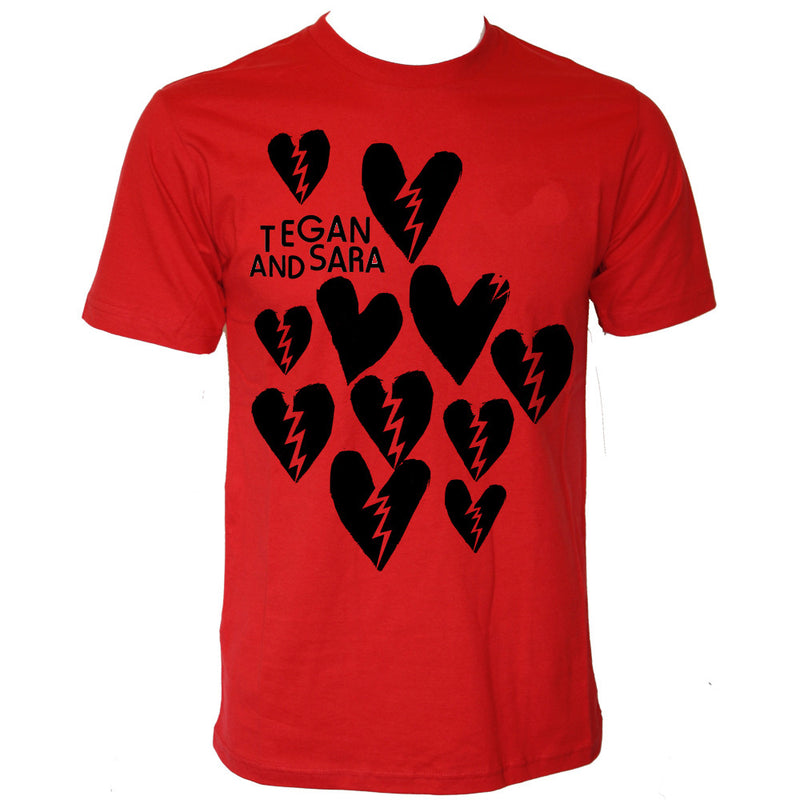 Cracked Heart (Red Tee)
