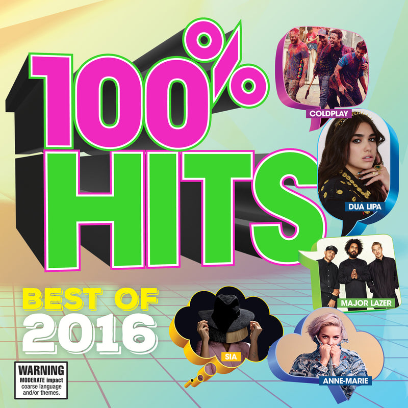 100% Hits - Best of 2016 (CD)