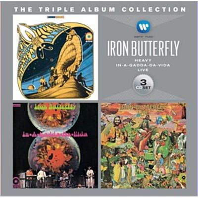 Iron Butterfly Triple Album Collection