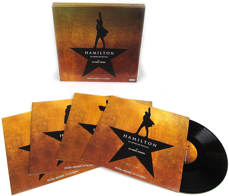 Hamilton (Original Broadway Cast Recording) [Deluxe Edition Vinyl]