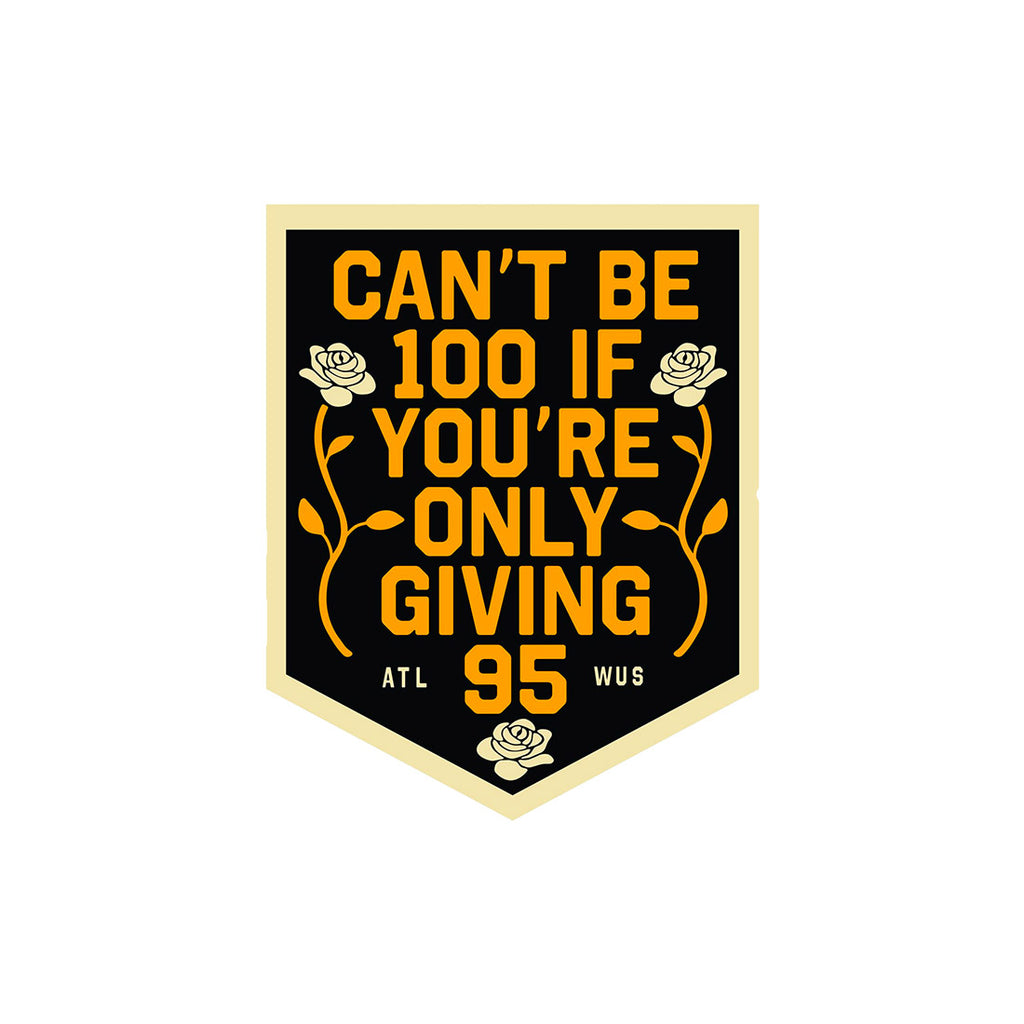 Can't Be 100 Pennant (Limited Edition)