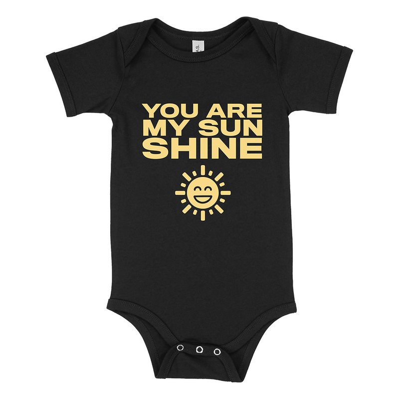 Shine Type Onesie