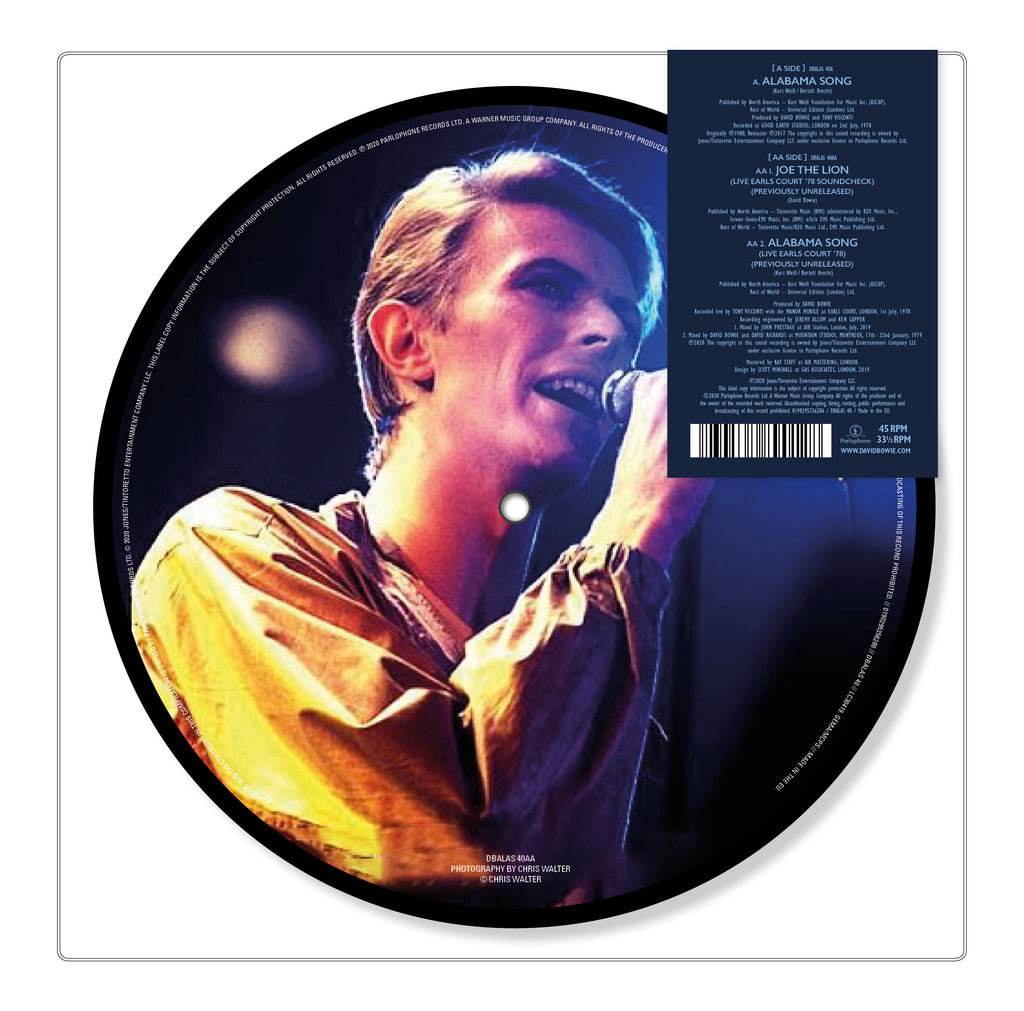 "Alabama Song (7"" Picture Disc)"