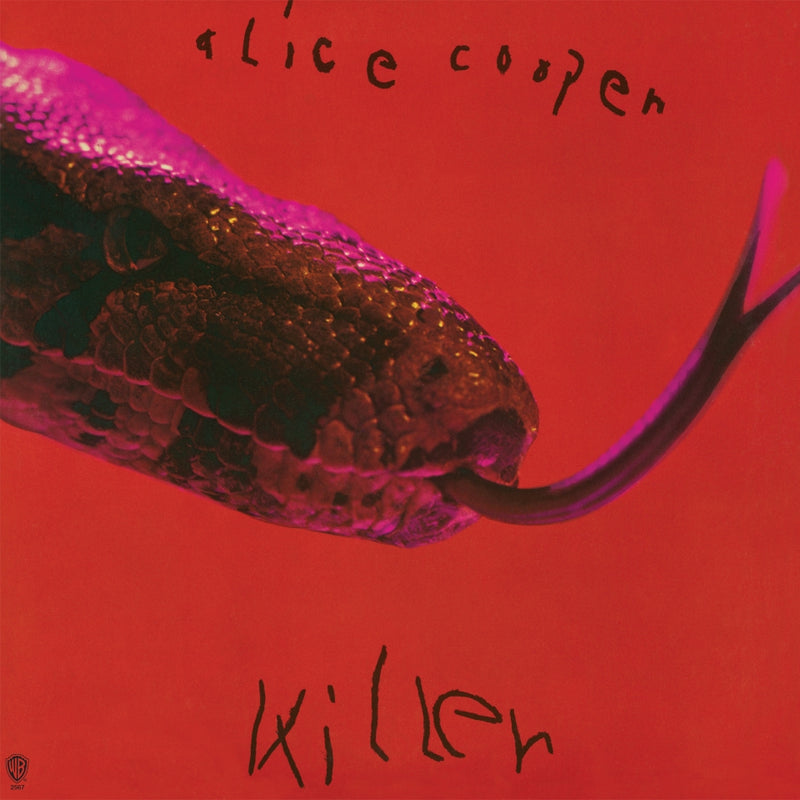 Alice Cooper Killer Red Black Vinyl Cover