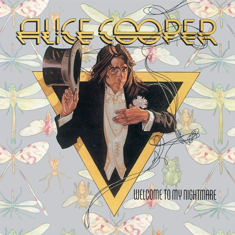 Alice Cooper Welcome To My Nightmare Purple Vinyl Cover
