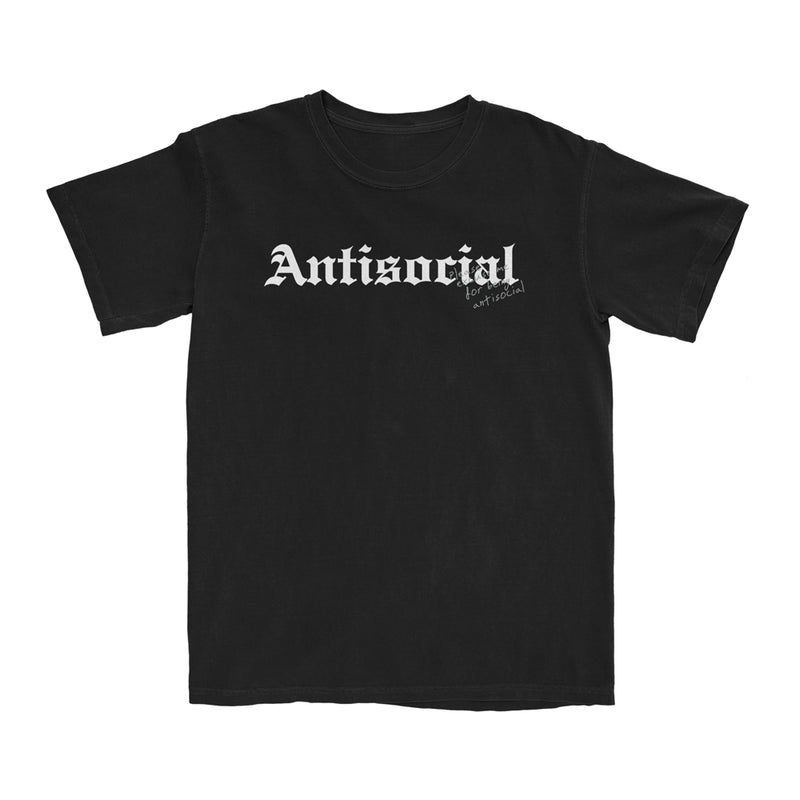 Antisocial T-Shirt (Black) + Digital Album