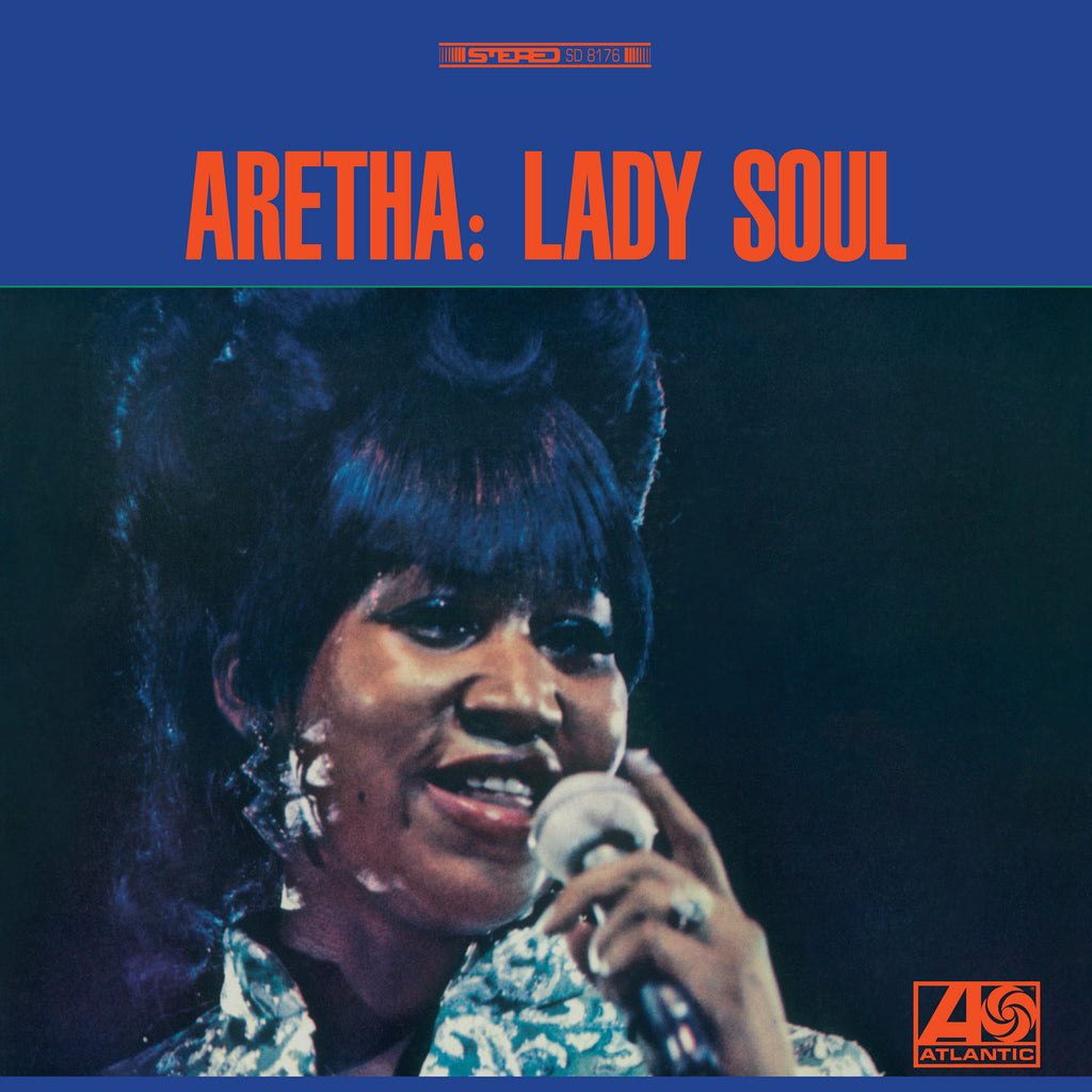 Aretha Franklin Lady Soul Black Vinyl Cover