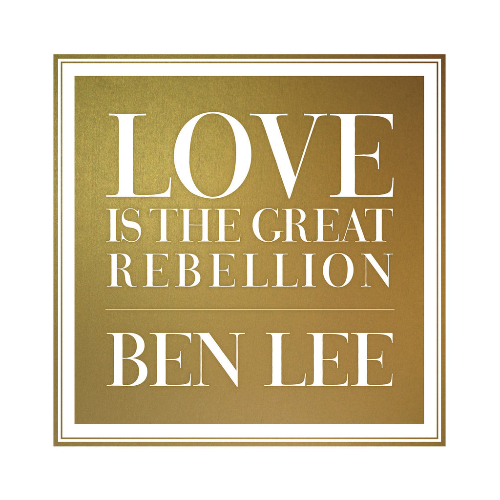 Love Is The Great Rebellion (CD)