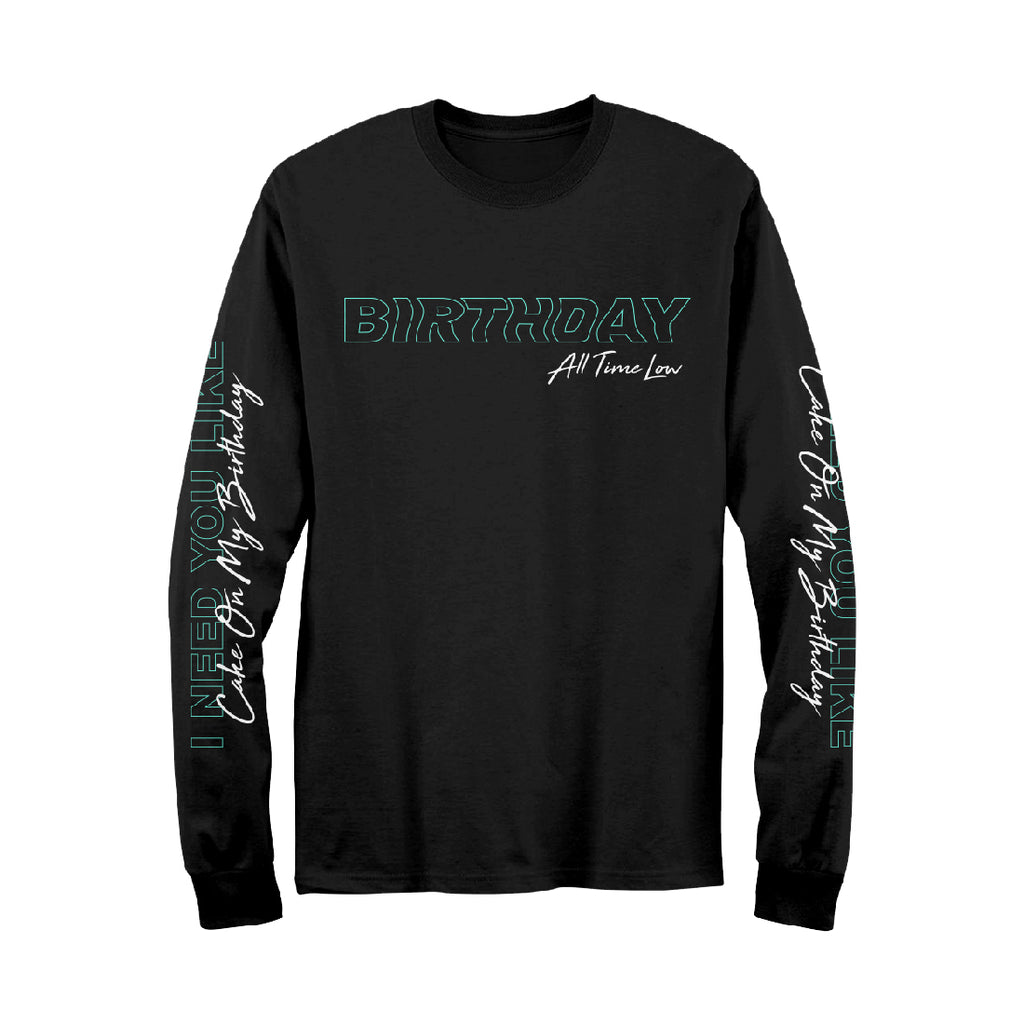 Birthday Candle Long Sleeve