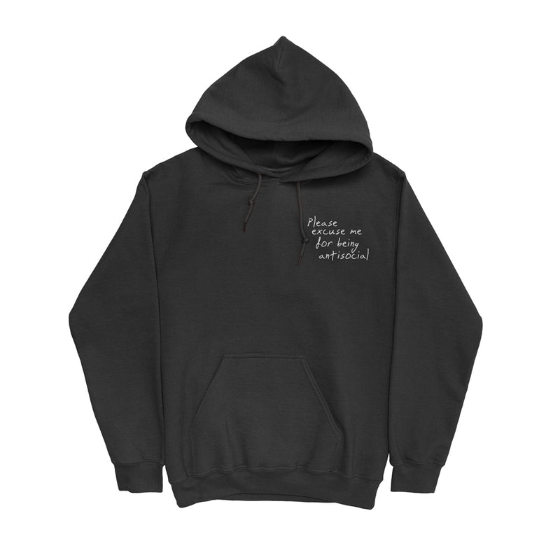 Please Excuse Me Hoodie (Black) + Digital Album