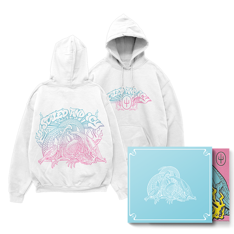 Scaled And Icy (Blue Slipcase) + Spectrum Hoodie Bundle