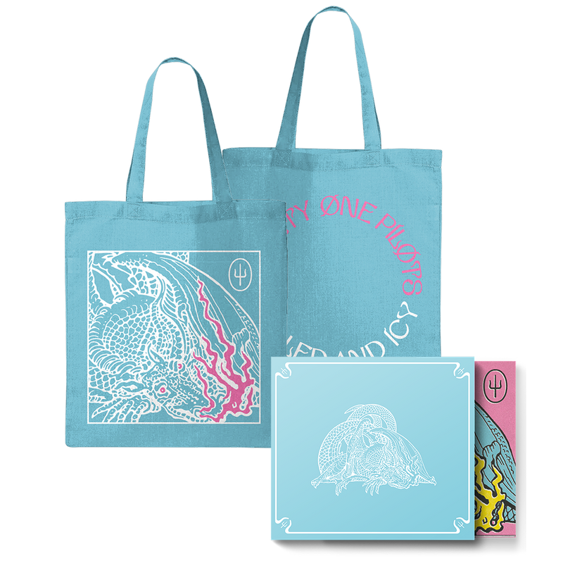 Scaled And Icy (Blue Slipcase) + Blue Box Tote Bundle