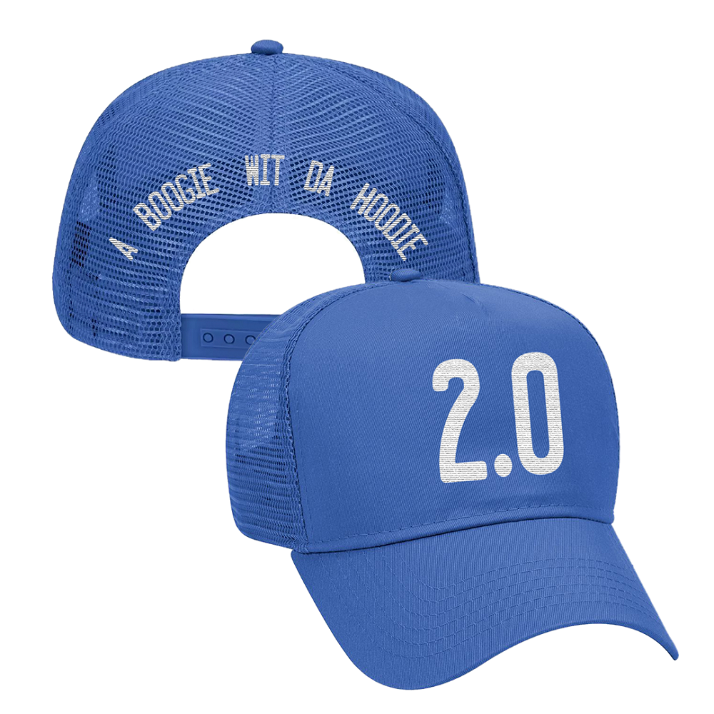 Artist 2.0 Royal Blue Trucker Hat
