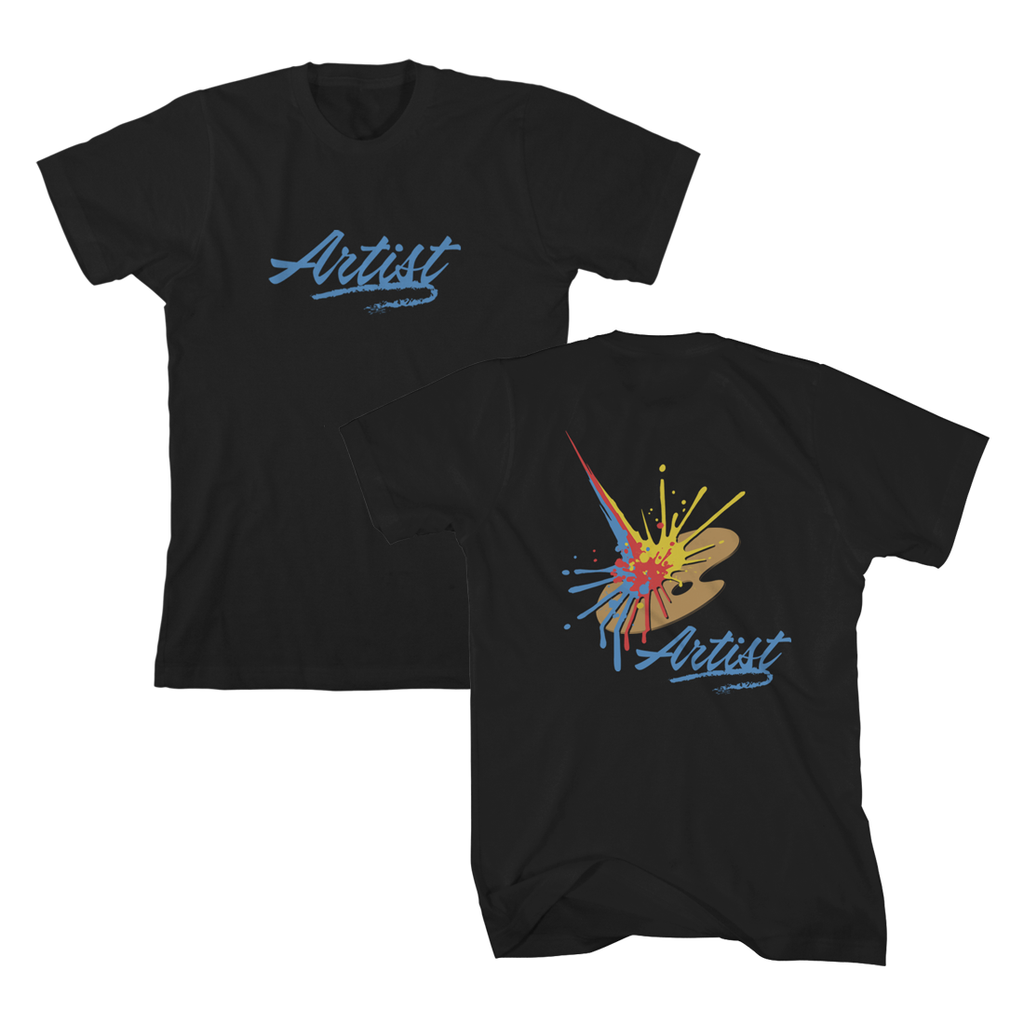 Artist Palette Black T-shirt + Digital Album