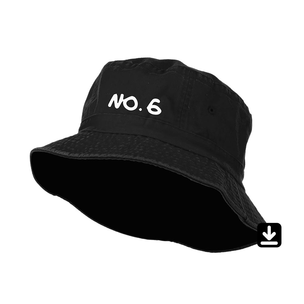 No.6 Collaborations Project Bucket Hat with Digital Download