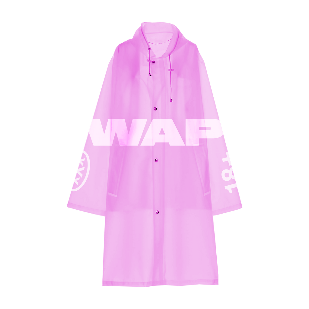WAP Raincoat (Pink) + Digital Single
