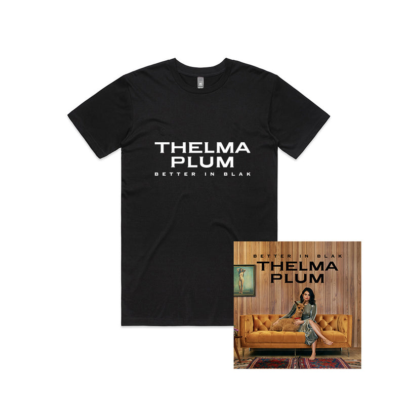 Better in Blak (CD and Album T-Shirt)