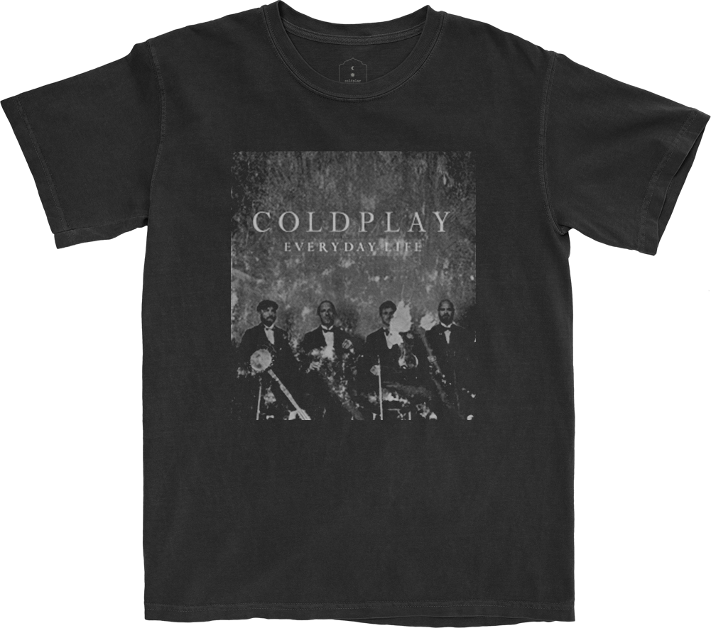 Everyday Life Black T-shirt + Album Bundle