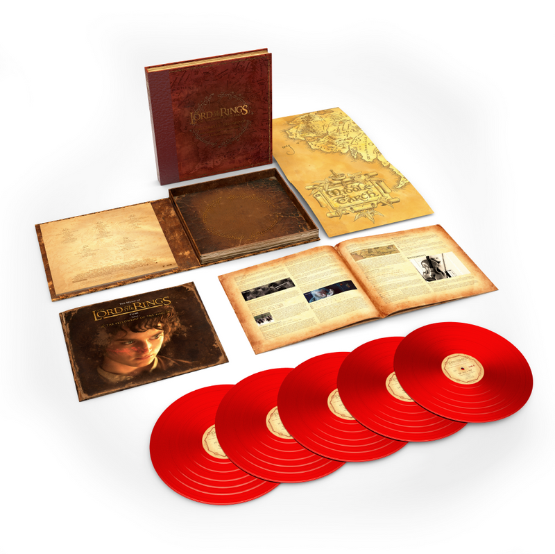 The Lord Of The Rings: The Fellowship Of The Ring - The Complete Recordings (Limited Edition Red Vinyl Box)