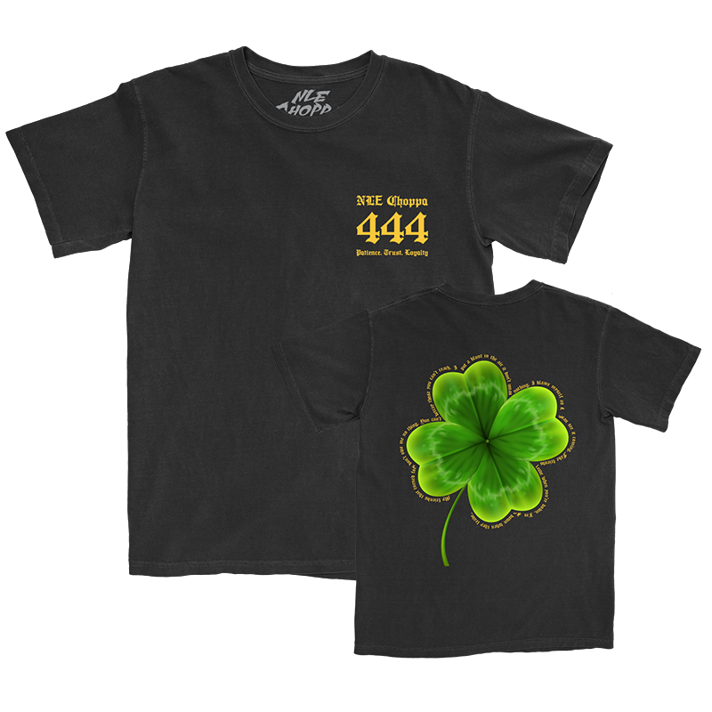 Clover Black T-Shirt