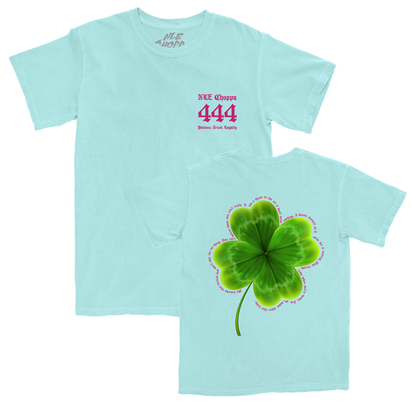 Clover Mint Green T-Shirt