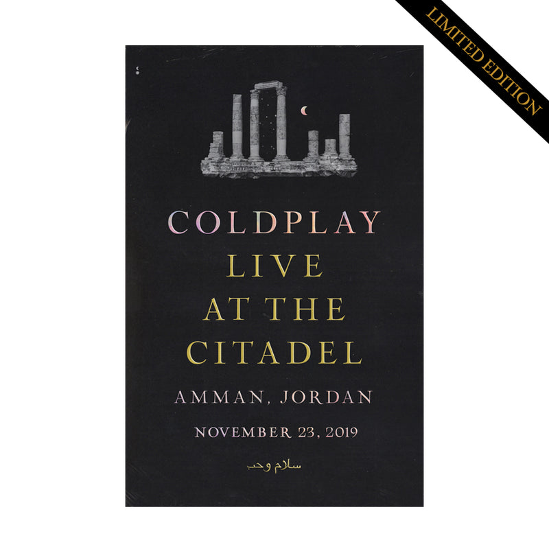 Coldplay Citadel Lithograph