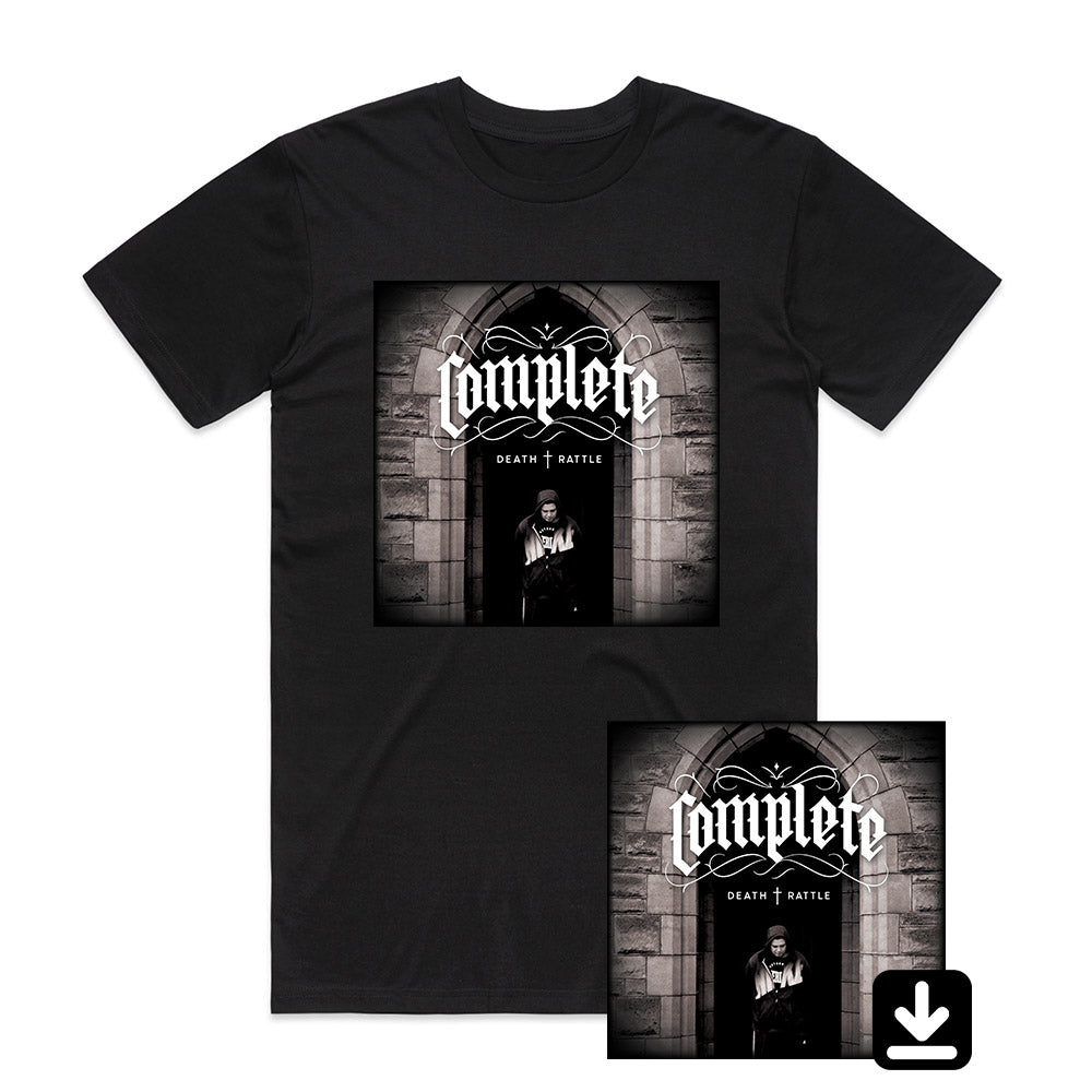 Death Rattle (Download + Black T-Shirt Bundle)
