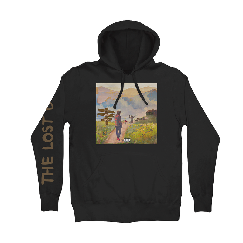 Lost Boy Hoodie (Black) + Digital Album