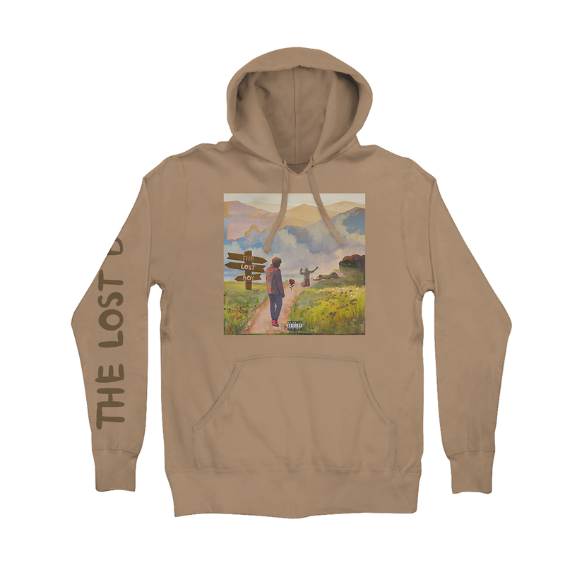 Lost Boy Hoodie (Tan) + Digital Album