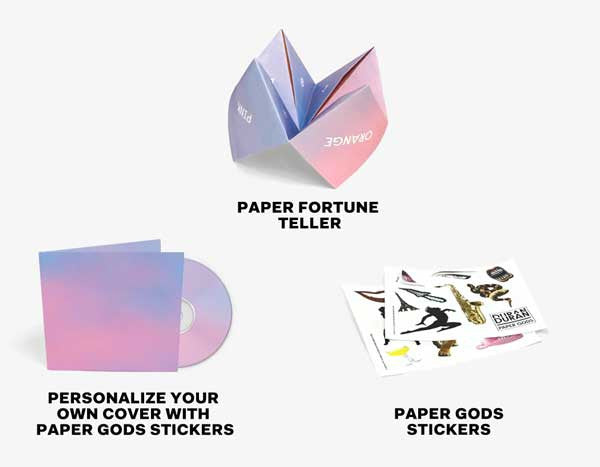 Paper Gods (Deluxe Fan Edition CD Bundle)